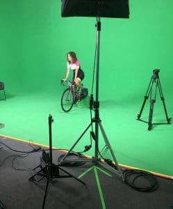 Paola Gianotti virtual set